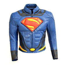 best bike leathers superman leather motorbike jacket