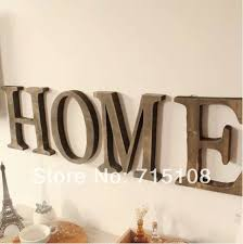 Aliexpresscom  Buy Vintage Wooden Letter Free Standing Big Size - Home decor articles