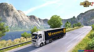 skin pack new year 2017 for iveco hiway and volvo 2012 2013 waberer u0027s combo skin for volvo fh 2012 trailer schmitz sko v1 0