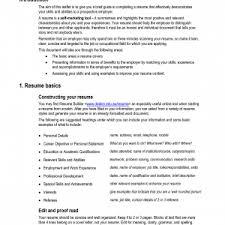 Resume Abilities Cover Letter Skills And Abilities In Resume Sample Skills And
