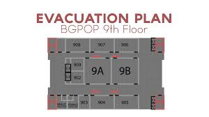 Fire Evacuation Floor Plan Cthm Evacuation Plan Animation Youtube