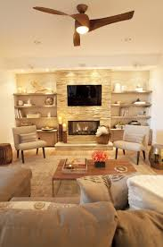 Asian Wall Fans by 20 Living Room With Fireplace That Will Warm You All Winter