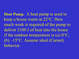 How To Keep A Bedroom Warm 2 Nd Law Of Thermodynamics Lecturer Professor Stephen T Thornton