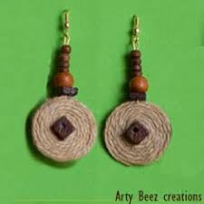 burlap necklace my jewelry burlap jewelry ideas