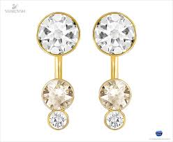 earring pierced 5201102 swarovski jewelry slake dot pierced earring jackets