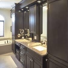 vanité chambre de bain modele de chambre avec salle de bain meuble salle de bain gris