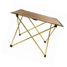 compact folding beach table trekology ultralight cing beach table portable compact