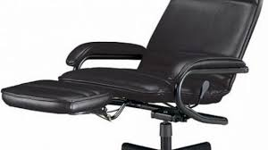 leather ergonomic recliner chair with footrest style of design for