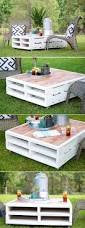 patio table ideas 15 best diy outdoor pallet furniture ideas homelovr