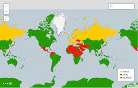 travel warnings images Us state dept travel advisory map somali spot forum news videos jpg