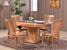 table household solid wood dining table and chairs combination