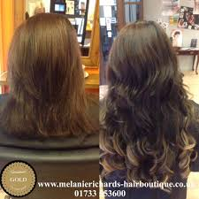 Wedding Hair Extensions Before And After by Great Length Hair Extensions Peterborough