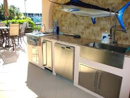 Tropical Outdoor Kitchen Designs Outdoor Kitchen Miami Setbi Club