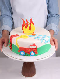 firetruck cakes how to make your child s birthday cake without being