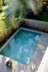 Backyard Pool Pictures Best 25 Plunge Pool Ideas On Pinterest Small Pools Small Pool