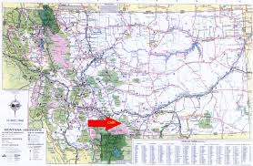 Montana Map With Cities And Towns by Hudson Realty Company Cathedral Mountain Ranch Subdivision