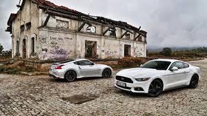 nissan 370z vs nismo comparativa ford mustang vs nissan 370z nismo autobild es