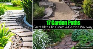 Ideas For Garden Walkways Gorgeous Ideas Garden Path 17 Great Ways To Create A Walkway