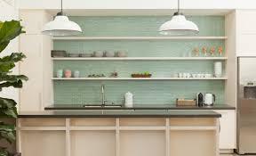 Green Tile Kitchen Backsplash Breathtaking Light Green Kitchen Backsplash In Glass Materials