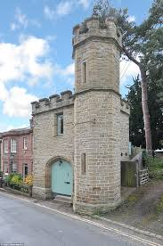 grade ii listed folly complete with turret on market for 268 000