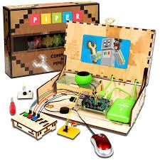 amazon com piper computer kit with minecraft raspberry pi