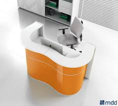 Modular Reception Desks Wave Reception Desk High Gloss White Buy At Best Price