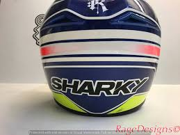 motocross helmet painting custom helmet u0026 bike livery paint warrington rage designs