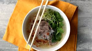 cuisine pho beef and rice noodle soup pho recipe genius kitchen