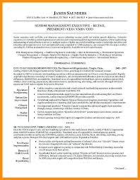 senior executive resume samples free executive resume templates
