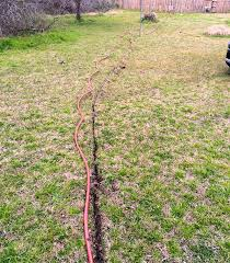 Can You Bury A Dog In Your Backyard How To Bury A Garden Hose Underground