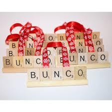 bunco gift set 12 ornaments bunco gift bunco