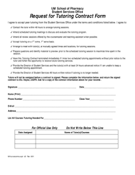 behavior contract forms and templates fillable u0026 printable