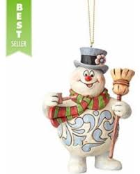 great deals on frosty with broom hanging ornament 4 375 rudolph