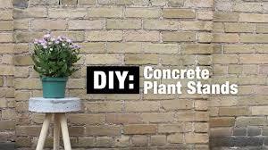 Concrete Planters Home Depot by Diy Concrete Planter Stand The Home Depot Canada