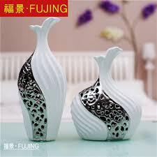 ceramic vase ornaments modern living room european style home