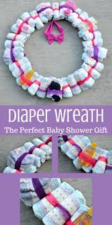 baby shower wreath diy wreath baby shower gift