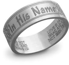 bible verse rings bible verse wedding bands that spell out faith and