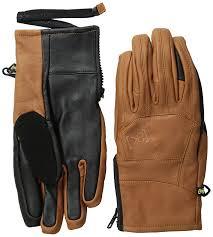 amazon com burton ak leather tech gloves sports u0026 outdoors
