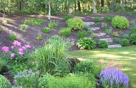 Slope Landscaping Ideas For Backyards Backyard Landscaping Slope Interesting Landscaping Ideas On A