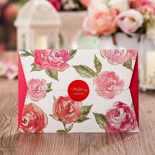Asian Wedding Invitation Compare Prices On Wedding Invitation Red Asian Online Shopping