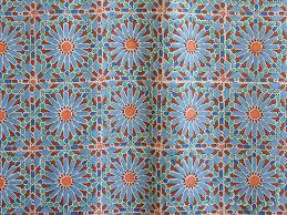 Moroccan Print Curtains Moroccan Tile Print Kitchen Curtain Moroccan Tier Curtain Blue
