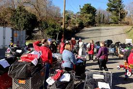 salvation army organizes early to deliver a merry christmas