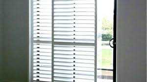 Bypass Shutters For Patio Doors Amazing Interior Shutters Sliding Patio Doors S Bypass Plantation