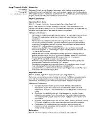 Comprehensive Resume Sample For Nurses by 20 Years From Now Resume