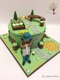 471 best garden cakes images on pinterest garden cakes birthday