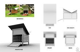 house modern dog house plans