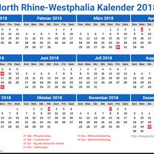 Kalender 2018 Hari Libur Nrw Kalender 2018 Kelender 2018