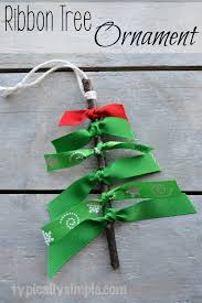 ribbon tree ornament giveaway typically simple