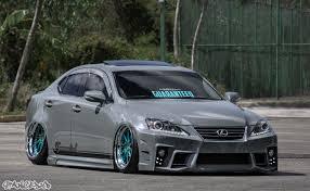 bagged ls460 sablan u0027s aimgain lexus is350 stanced up