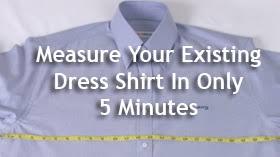dress shirt measurements measure shirt